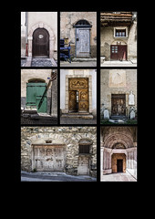 Doors (Rense Haveman) Tags: doors architecture france alps collage
