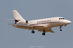 Netjets Falcon 2000EX CS-DLI (José M. Deza) Tags: 20190713 bcn csdli dassault elprat falcon2000ex lebl netjets planespotting spotter aircraft