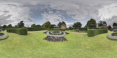 The Vyne Gardens Panorama (TerryCym) Tags: 360panorama nationaltrust hampshire thevyne basingstoke garden vr castlespalacesmanorhousesstatelyhomescottages outside ptgui flower