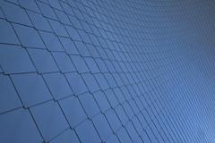 Squares (CoolMcFlash) Tags: landesgalerie loweraustria niederösterreich krems facade architecture abstract lines geometry blue lgnoe fujifilm xt2 modern building fassade architektur abstrakt linien geometrie blau fotografie photography xf1024mmf4 r ois muster pattern minimalism minimalistic minimalistisch