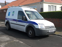Ford Transit Connect (NX09 RFL) - Hartlepool Borough Council (Ray's Photo Collection) Tags: hartlepool headland nx09rfl ford county durham transit connect borough council