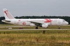 TS-IML (PlanePixNase) Tags: aircraft airport planespotting haj eddv hannover langenhagen tunisair airbus 320 a320