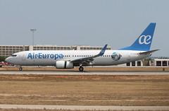 UX 738W EC-MJU Argentina (Spenair777) Tags: flywinglets air europa argentina boeing 737800 palma majorca pmi