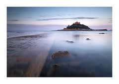 D A W N - G L O W (Andrew Hocking Photography) Tags: stmichaelsmount marazion july cornwall magical mythical castle sunrise bluehour glow red causeway tidal longexposure sea seasde ocean coast calm tranquil still england water reflection early dawn summer blue peaceful