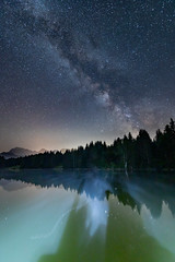 Milky Way over Geroldsee, Bavaria (bjoernahrensfotografie) Tags: munich münchen geroldsee karwendel milchstrase milkyway stars sterne sternenhimmel starrysky night nacht nachthimmel nightsky astro astrophotography canon canoneosr