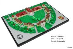 Royal Saltworks of Arc-et-Senans (Dan_Sto) Tags: lego architecture unesco arcetsenans saltworks
