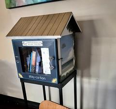 Little Free Library (LarryJay99 ) Tags: lakeworthlittlefreelibraryurban bookstore books reading thebookcellar