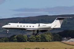 N168PK Glasgow 14-7-2019 (Plane Buddy) Tags: n168pk gulfstream iv 1053 egpf glasgow