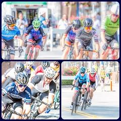 Tour de White Rock, BC- collage (gks18) Tags: canon sports bikes people lightroom nik streetracing whiterockbc action