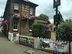 The Black Horse (2) (jovike) Tags: advert barnet building garden inn london pub publichouse sign street