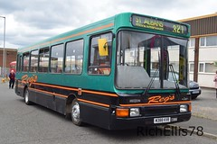 Add Watermark20190714051239 (richellis1978) Tags: bus aston manor transport museum preserved buses coaches road old corporation dennis dart regs m388kvr northern counties