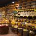 Variedade enorme de queijos