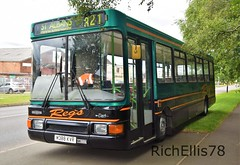 Add Watermark20190714051055 (richellis1978) Tags: bus aston manor transport museum preserved buses coaches road old corporation dennis dart regs m388kvr northern counties