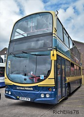 Add Watermark20190714050827 (richellis1978) Tags: bus aston manor transport museum preserved buses coaches road old corporation west bromwich wright eclipse gemini volvo b7tl 4679 bx54xpm retro