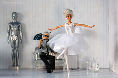 and the angels are dancing (photos4dreams) Tags: ballet girl fashion toy star outfit focus ballerina doll soft play dancers dress hamilton barbie dancer nutcracker barbies mode mattel diorama primal ballett kleider fashionistas tänzerinnen tänzerin puppenstube bilitis tabletopphotography photos4dreams photos4dreamz p4d mistycopeland ladies girls beautiful female women firebird africanamerican afroamerican beauties damen aa weiblich darkskin feuervogel primaballerina principaldancer firstafricanamericanfemaleprincipaldancerwiththeprestigiousamericanballettheatre barbiefrn76 cat high designer signature vogue meow tribute katze puppe karllagerfeld choupette canoneos5dmark3
