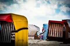 Nieblum (Til..) Tags: nikond7100 nikon tamron70200g2 nieblum nordsee insel strandkorb sommer strand urlaub himmel tamron wolken