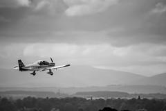 195/365 (Charlie Little) Tags: carlisle cumbria airport aviation aeroplane blackandwhite bw p365 project365
