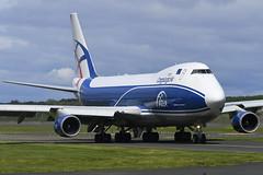 G-CLAB Boeing B747-428ERF EGPK 27-05-19 (MarkP51) Tags: sunshine plane airplane scotland airport nikon image aircraft airliner pik d500 egpk markp51 nikonafp70300fx sunny cargo boeing jumbojet freighter b747 p3 clu gclab b747428erf cargologicair bprestwick