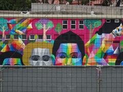(Joan Pau Inarejos) Tags: okuda art arte streetart street urban san miguel pintura mural wall venus foot world football futbol sport deporte femenino femení