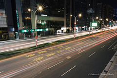 2019071503 (Natsumi 七海) Tags: nightview night street lighttrail streetsnap overpass multipleexposure
