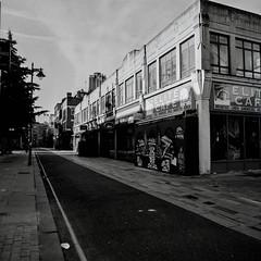 Elite Cafe (suzannesullivan2) Tags: panf ilford street blackandwhite bw analogue film bronicasqa