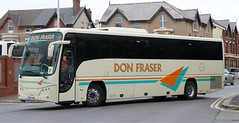 Don Fraser Coaches, Rufford DSV 448 at Blackpool Pleasure Beach, Balmoral Car Park. (Gobbiner) Tags: donfraser dsv448 rufford panther b9r blackpool volvo oo13sou plaxton southerncoaches fowler lochsmotortransport