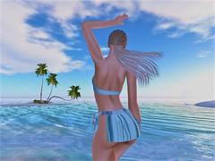 WellMade x anyBody - No. 2 (Joy.Felicity.Styling.Arts) Tags: anybody event events flair selby outfit rama janice wellmade well made thidelly beach bikini slblogger windy hair maitreya mesh body