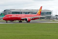 B-6998 Boeing 787-9 (Irish251) Tags: red hainan livery b789 boeing 787 dub eidw dublin ireland