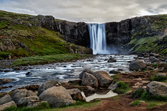 Gufufoss at the evening light. (alexhait) Tags: waterfall landscape iceland d850