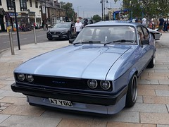 FORD CAPRI 2.8i (shagracer) Tags: ford capri mkiii a7ydu hoddesdon classic car cars show town centre classics injection 28i
