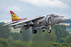 Spanish Navy EAV-8B Harrier II 01-925 (Vortex Photography - Duncan Monk) Tags: spanish navy harrier ii av8 av8b eav8b 01925 va1b37 rnas royal naval air station yeovilton international airday 2019 display airshow hover jet special tail art spain somerset aerospace