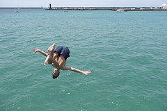 The Jump (RadarO´Reilly) Tags: street streetphotography fun water harbor