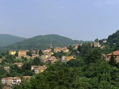 (Paolo Cozzarizza) Tags: italia liguria genova mignanego panorama alberi chiesa