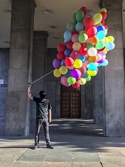 MATTER OF TIME-performance (Vladimír Turner) Tags: revolution art performance happening protest riot contemporaryart berlin karlmarx allee
