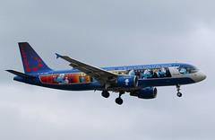 Brussels Airlines | A320-200 | OO-SND | HAM | 14.07.2019 (Norbert.Schmidt) Tags: aerosmurf snsmurfs smurfs schlümpfe dieschlümpfe oosnd a320 airbus hamburgairport brusselsairlines