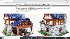 Medieval Blacksmith Shop On LEGO IDEAS (ben_pitchford) Tags: lego moc legoideas medieval blacksmith legoafol legocommunity brickworld brickaddict castle diorama knights legocastle
