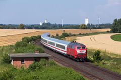 Beschendorf (Nils Wieske) Tags: schleswigholstein ostholstein baureihe 218 rp db bahn eisenbahn fernverkehr ic intercity orientot train zug züge railway railroad