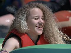 Happy (Scott 97006) Tags: female blonde beauty happy smile pretty lifevest sunshine cute frizzy
