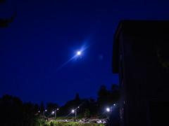 la lune à l'heure bleue13 juillet 2019   lightroom_-12 (lucile longre) Tags: lune juillet été heurebleue yzeron montsdulyonnais rhône auvergnerhônealpes paysage nature ciel astrophotographie soir crépuscule