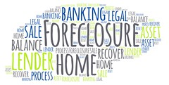 Foreclosure (Pivotal45) Tags: foreclosure home finance bank lender asset sale legal process tags words tagcloud wordcloud