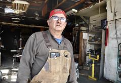 Pajaro, California 2019 (Dave Glass . foto) Tags: pajaroca montereycounty california welder weldingshop metalshop salinasvalley steinbeckcountry biboveralls overalls salinasroad
