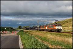 RFO 1830 + 1837 + Gefco | Harselaar, 14-7-19 (Arnoud - Fotografie) Tags: trein train zug rfo spoorlijn harselaar gefco autotrein railway railroad rail canon cargo