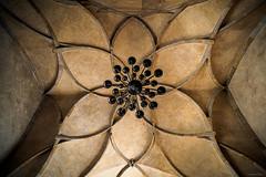 Vladislav Hall - Prague, Czech Republic (Sebastian Bayer) Tags: kronleuchter architektur vladislavsaal leuchter decke dach sehenswürdigkeit symmetrie putz veitsdom prag lampe saal symbol gewölbe kerzenleuchter stein