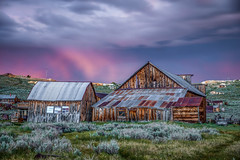 Blue Hour Sunset Rain in Bodie (Jeff Sullivan (www.JeffSullivanPhotography.com)) Tags: california park travel sunset wild copyright usa west abandoned nature weather june night canon lens landscape photography eos town photo state ghost historic mining american bridgeport allrightsreserved 2019 monocounty bodiestatehistoricpark ef2470mmf28 jeffsullivan 5dmarkiv bodie