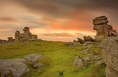 Great Staple Tor (Hoovering_crompton) Tags: greatstapletor dartmoor nikond7200 devon longexposure landcape sunset