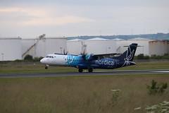 Nordica ES-ATA BHD 09/07/19 (ethana23) Tags: planes planespotting aviation avgeek aeroplane aircraft airplane flybe nordica atr atr72 72 72600