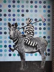 Zebra Prisoner Wallpaper Ipswich July 2019 (Uncle Money UK) Tags: zebra prisoner wallpaper ipswich july 2019