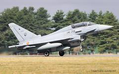 EVX | Ejército del Aire Eurofighter Typhoon | CE.16-11 / 14-70 (Timothée Savouré) Tags: 1470 ce1611 eurofighter typhoon ef2000 ef2000b evreux lfoe evx ba105 air force base aérienne ba 105 bastille day 14 juillet 2019
