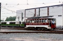 BERy 396 at Riverside (ironmike9) Tags: track rail lightrail trolley streetcar tram bostonelevatedrwy bery mbta transit publictransit lrv lightrailvehicle riverside newtonma motorman