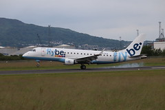 Flybe G-FBJA BHD 09/07/19 (ethana23) Tags: planes planespotting aviation avgeek aeroplane aircraft airplane embraer e175 175 flybe